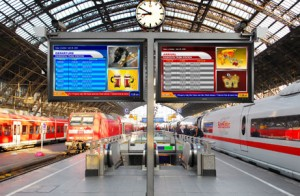 Rail Station Digital Signage